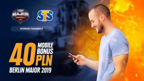 Mobile Bonus 40 PLN na start fazy Legend!